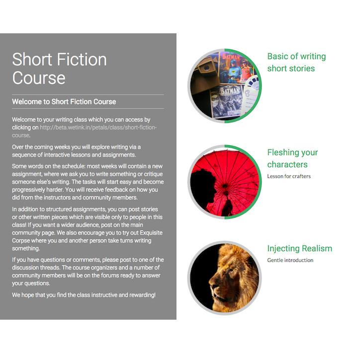 creative writing critique